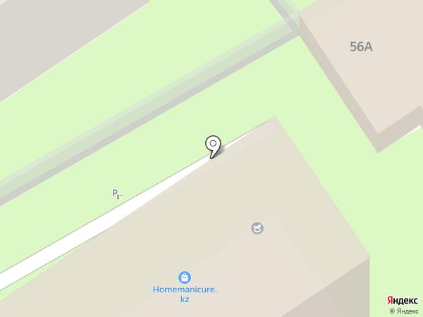 Жарнама на карте Алматы