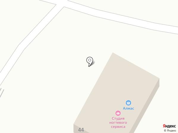 Алмас на карте Боралдая