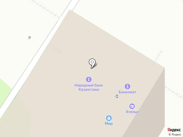 KPI Ломбард, ТОО на карте Алматы