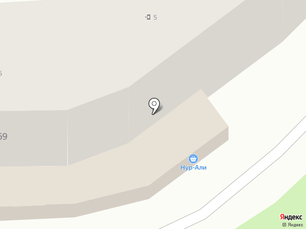 Нур-Али на карте Алматы