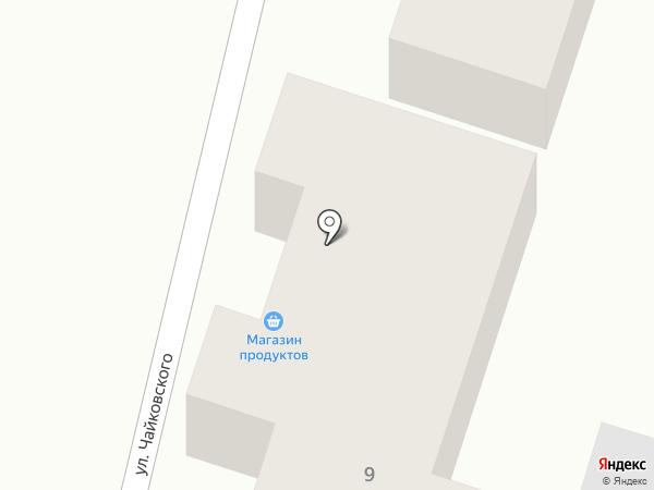 Дина на карте Боралдая