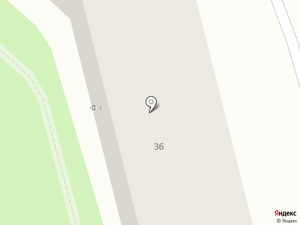 У ТОПОЛЯ на карте Алматы