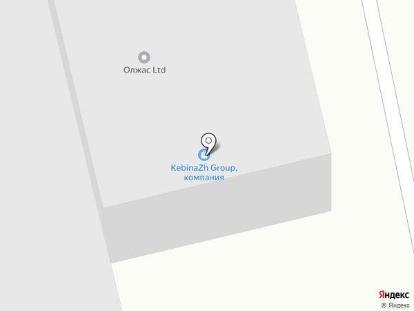 Розали Транс, ТОО на карте Алматы