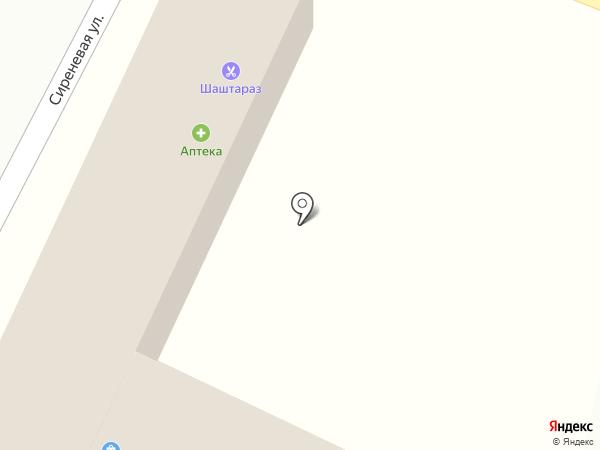 Центр на карте Боралдая