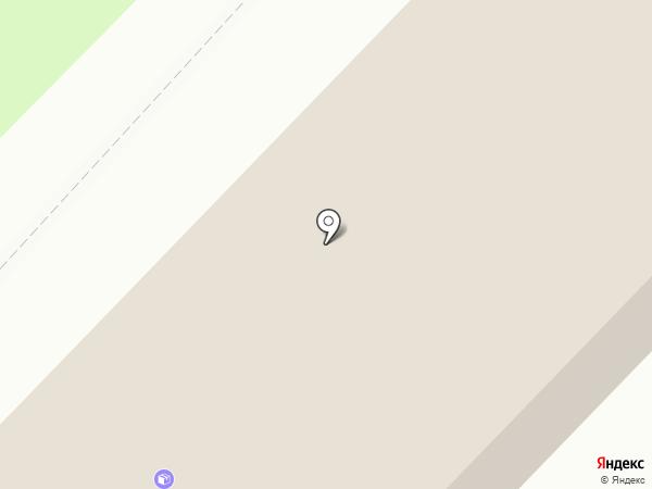 Радуга на карте Излучинска