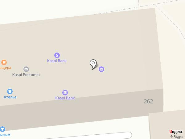 Адвокатский кабинет Чернов О.В. на карте Алматы