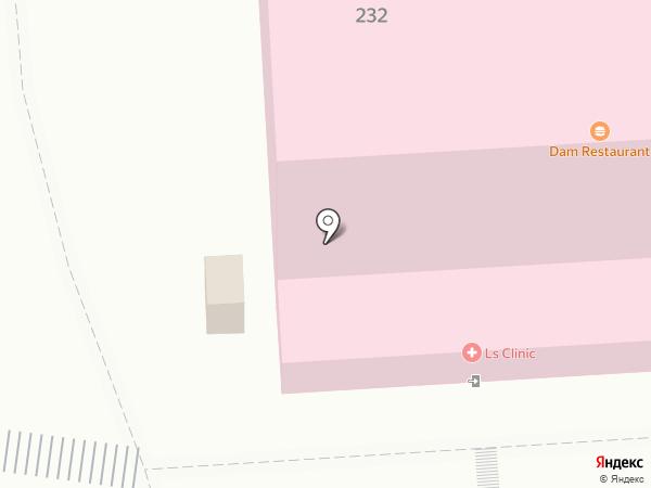 LS Clinic на карте Алматы