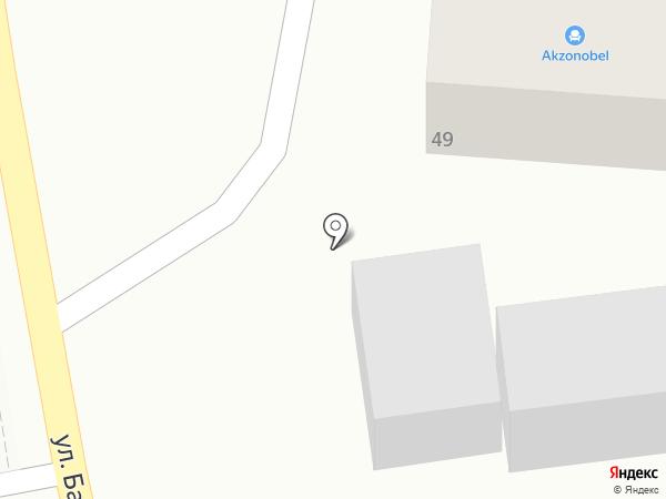 Байбесик на карте Алматы