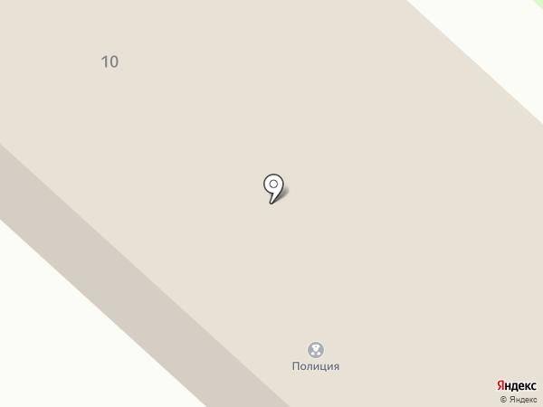 Отдел полиции №1 на карте Излучинска