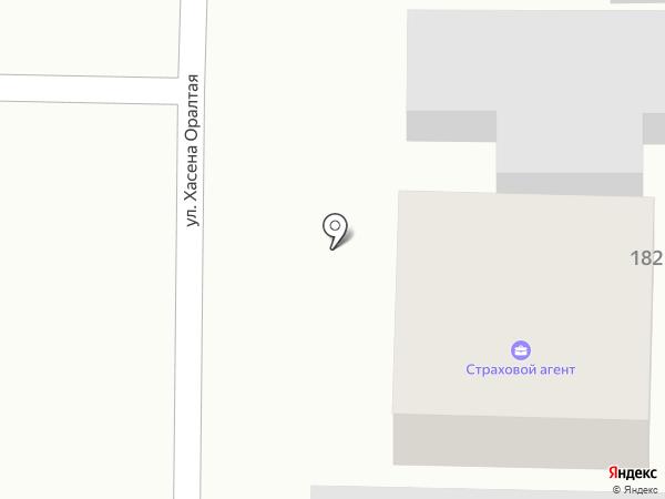 Страховой агент на карте Алматы
