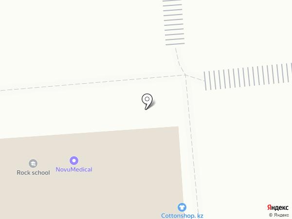 Cottonshop.kz на карте Алматы