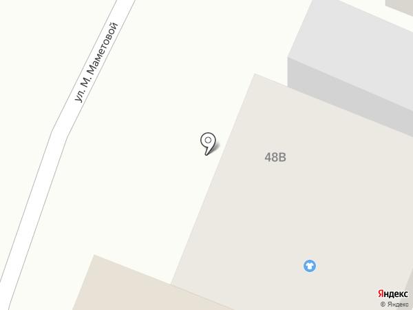 Автомойка на карте Жапека Батыра
