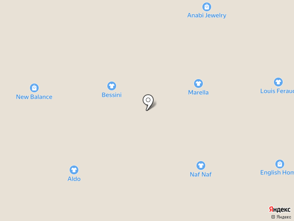 Crocs на карте Алматы