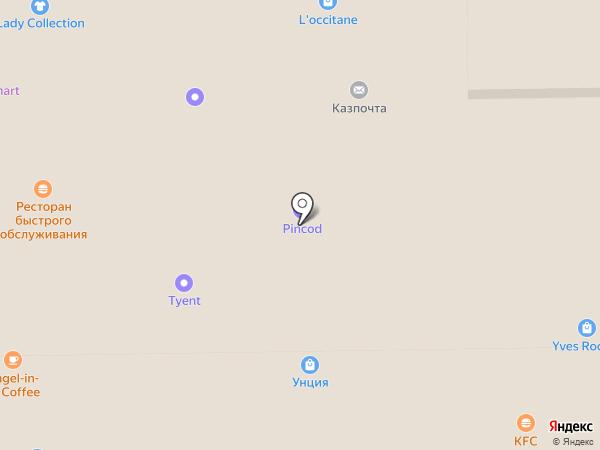Едим дома на карте Алматы