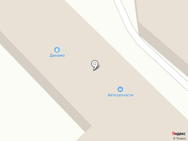 Магазин автозапчастей на карте Излучинска