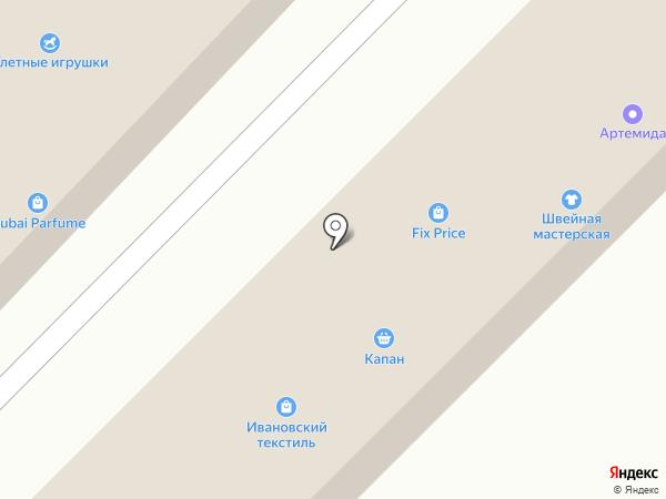 Двери на карте Излучинска
