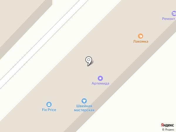 Лакомка на карте Излучинска