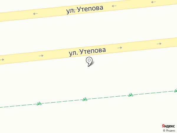 Мясной магазин на карте Алматы