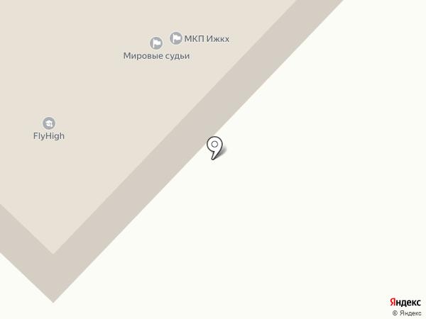 Полиглот на карте Излучинска