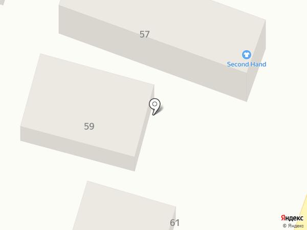 Парикмахерская на карте Жапека Батыра