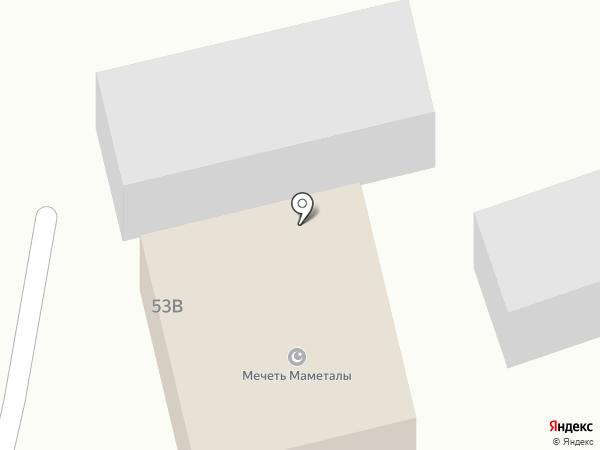 Мамед Али-кожа на карте Жапека Батыра