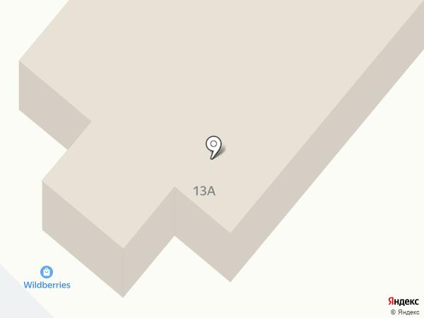 Милана на карте Излучинска