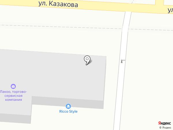 Ильбирис, ТОО на карте Алматы