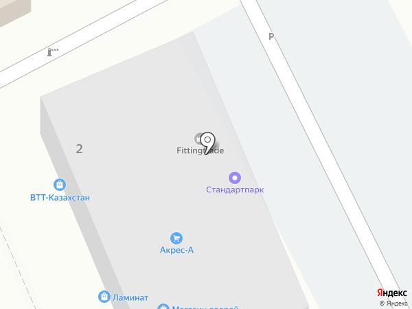 Берекелі Жол на карте Алматы
