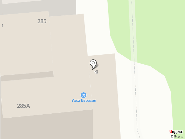 Ристарт на карте Алматы
