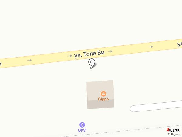 Анталья на карте Алматы