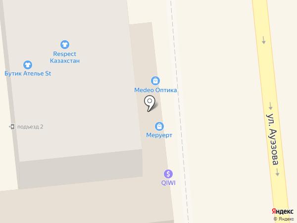 Азан Log на карте Алматы