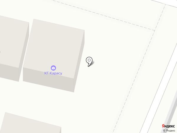 КАРАСУ на карте Алматы