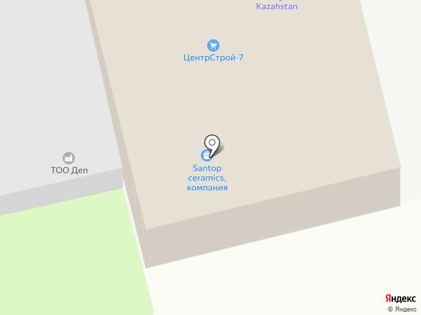 Амега Эко Трейд на карте Алматы
