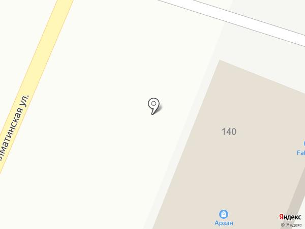 Прудхоз на карте Туймебаевой