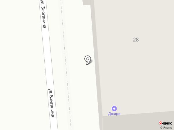 Black Point на карте Алматы