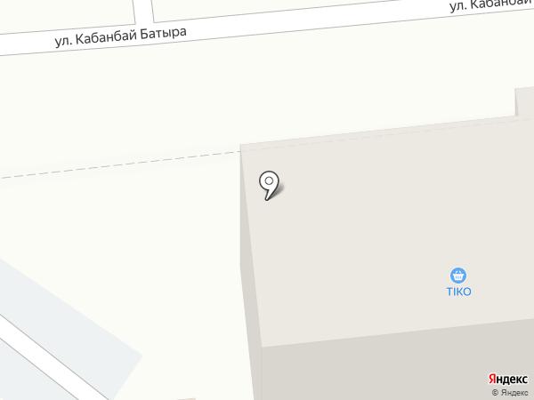 Афоня на карте Алматы