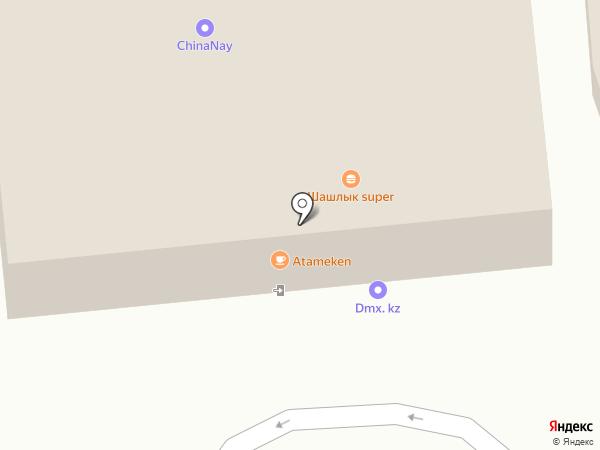 Мастер Сервис на карте Алматы