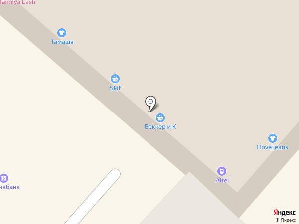 Шемико, ТОО на карте Алматы
