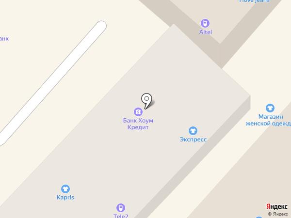Ломбард-Эконом, ТОО на карте Алматы