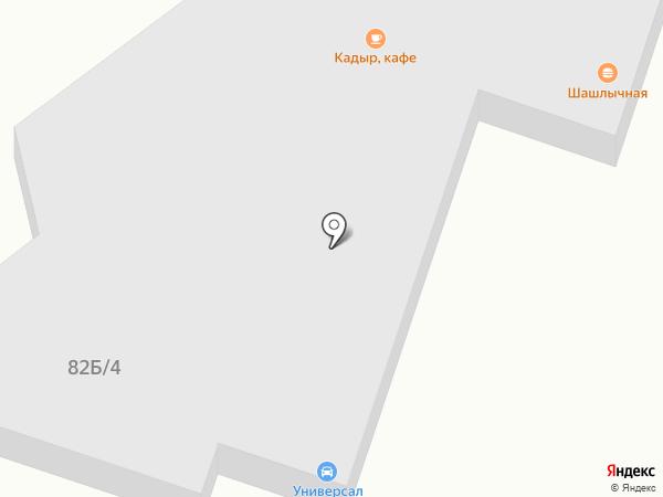 Кулжа на карте Алматы
