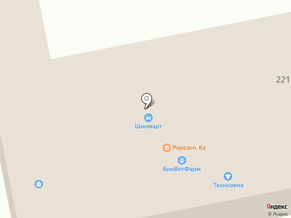 Мотор Сила, ТОО на карте Алматы