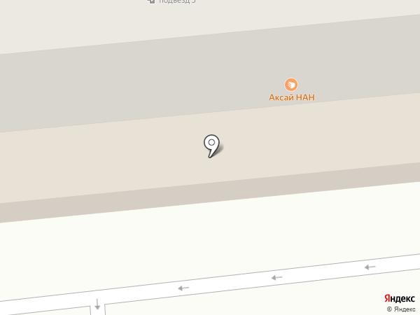 Аксай нан на карте Алматы