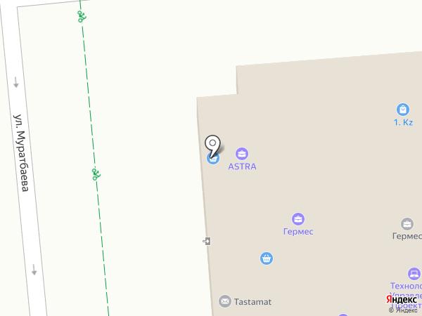 Роберт Бош, ТОО на карте Алматы