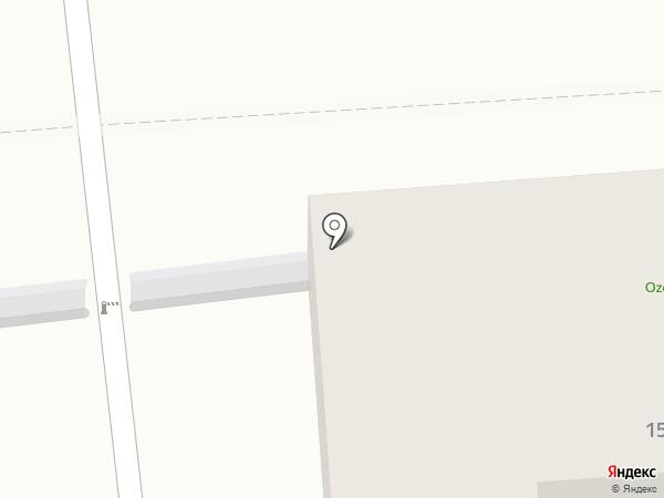 Greenovea на карте Алматы