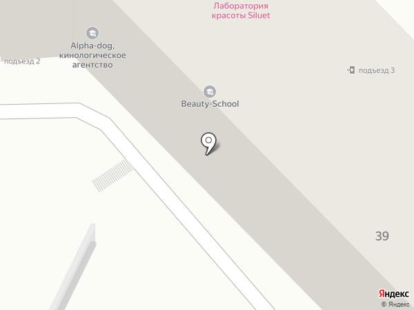 Арт-Копирка на карте Алматы