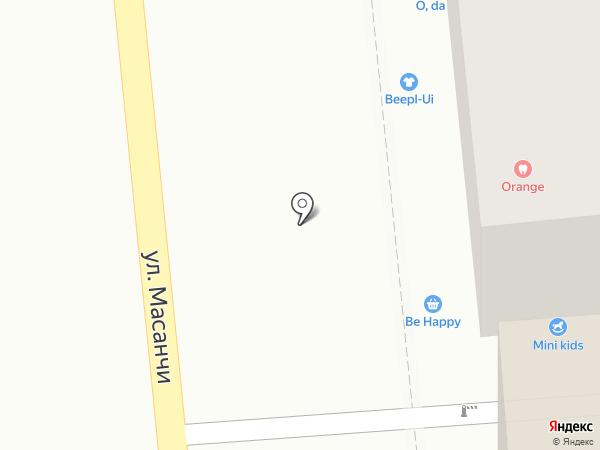 Кружка на карте Алматы