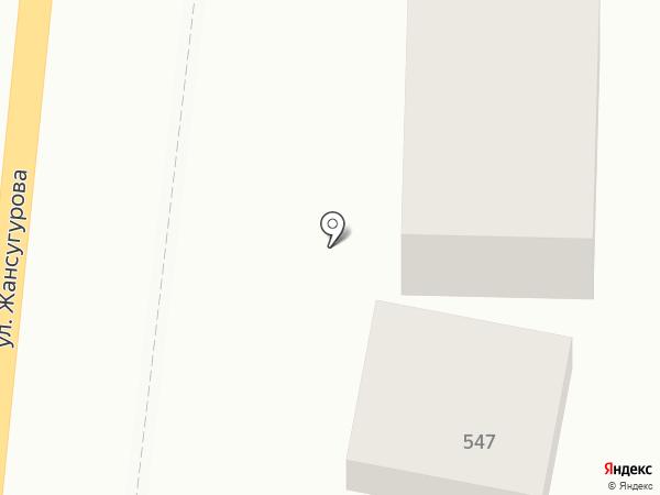 Таклимакан на карте Алматы