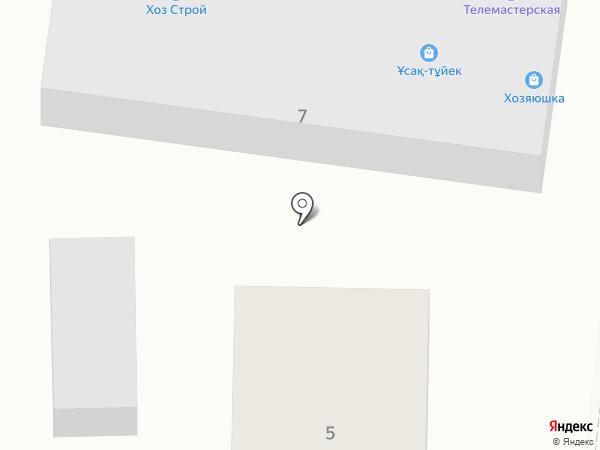 ХозСтрой на карте Первомайского