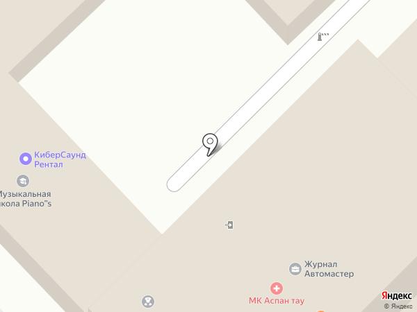 Автомастер на карте Алматы