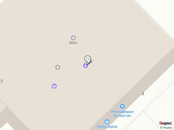 VS-OKNA на карте Алматы
